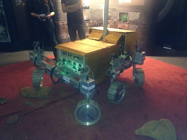 ESA Bridget Mars rover