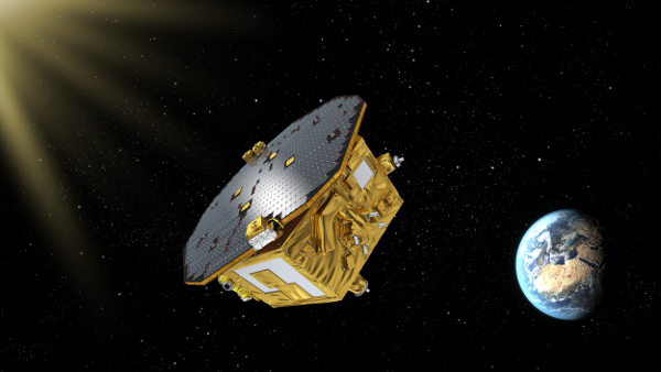 LISA_Pathfinder_in_space